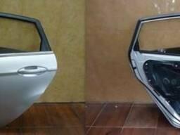 Дверь задняя левая 5D Форд Ford Fiesta MK7 2008-2015