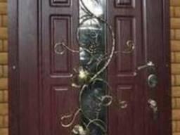 """Двери бронированные с обшивкой МДФ. """"Броневик"""" Днепропетровс"""