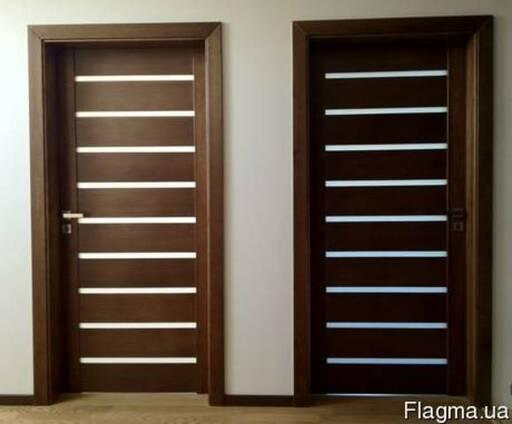 Двери деревянные из ясеня