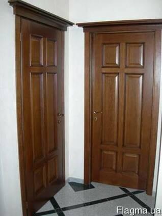 Двери деревянные массив. Донецк
