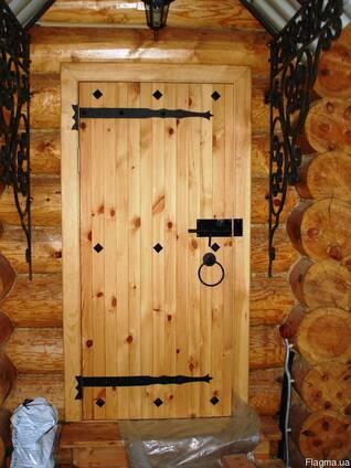 Двери Деревянных Домов/Бань/Саун/Квартир