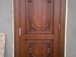 Двери дубовые. Двери из массива дуба