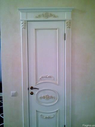 Двери любой сложности из массива дуба, ясеня,ольхи и сосны