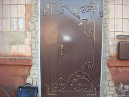 """Двері металеві в під""""їзд, підвал, гараж т. п."""