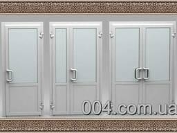 Двери металлопластиковые (пластиковые). Заказать.