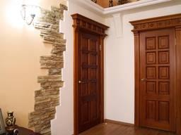 Двери межкомнатные из натурального дерева под заказ