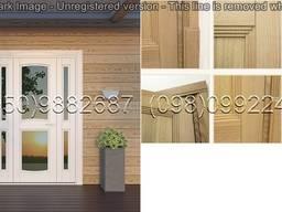 Двери межкомнатные, входные из натуральных пород дерева - photo 4