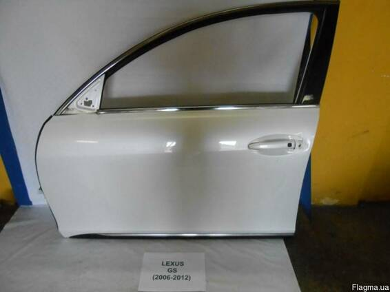 Двери передние левые правые комплектные Lexus GS 2005-2012