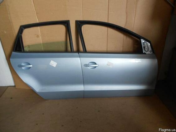 Двери передние задние левые правые VW Polo 6R 10-14