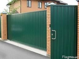 Двери, решетки, ворота, навесы, заборы, балконы