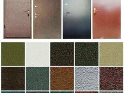 Металлические Двери с Порошковым/Молотковая Дверь Входная