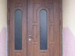 Двері вхідні з фрамугою
