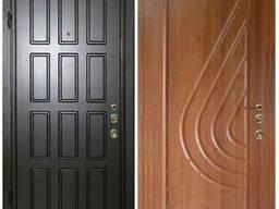 Двери входные с МДФ (MDF) от производителя