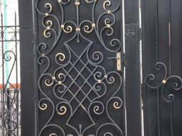 Металлические ворота,калитки, двери,заборы,решётки,балконы..