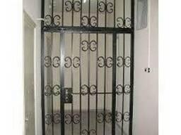 Дверные решётки, решётки на двери