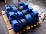 Электродвигатель трехфазный складского хранения, бу, б/у 4а - фото 5