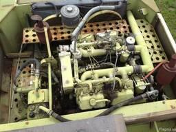 Двигатель 8VD комбайна Fortschtritt