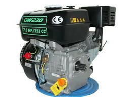 Двигатель бензиновый GrunWelt GW230-T/20 Евро 5 (шлиц. ..