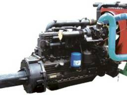 Двигатель Д-262. 2S2 на ДОН-1500 вместо СМД-31 (ЯМЗ8)