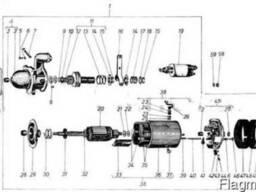 Двигатель Д-3900К. Стартер М114/12/30.