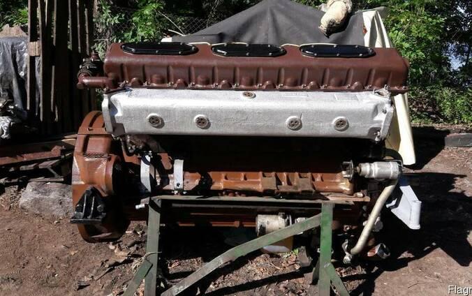 Двигатель Д12-525А с хранения, конверсия, без наработки.