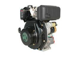 Двигатель дизельный GrunWelt GW178F (вал под шлицы. ..