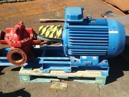 Двигатель для перекачки воды мощность 90 квт. новый