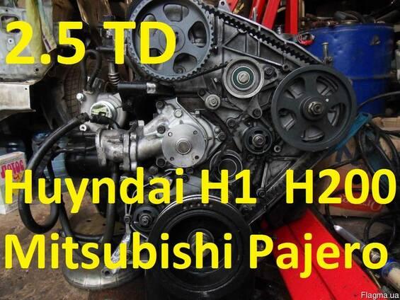 Двигатель Hyundai H1 Н200