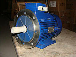Двигатель привода шнеков загрузочного и выгрузного ПК-20. ..