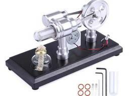 Двигатель Стирлинга Stirling Engine с генератором . Набор. - фото 2