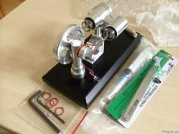 Двигатель Стирлинга Stirling Engine с генератором . Набор. - фото 6