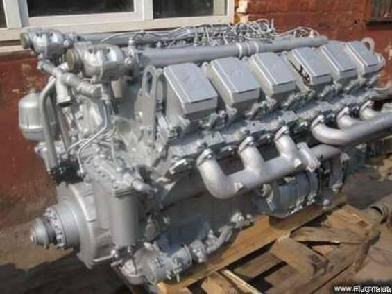 Двигатель ЯМЗ-240М2 (360л. с. ) не турбированый