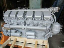 Дизельный двигатель ЯМЗ-240М2, 4-х тактный