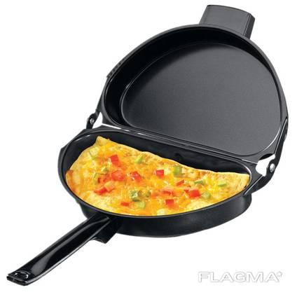 Двойная сковородка для омлета Folding Omelette Pan