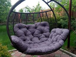 Двойное кресло  качели Флоренция (кокон) для дома, сада. ..