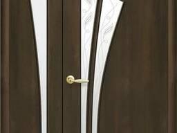Двухстворчатые, двойные межкомнатный двери (рассрочка)