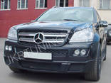 Двойные туманки Brabus Mercedes GL X164 2006 2007 2008 2009 - фото 8