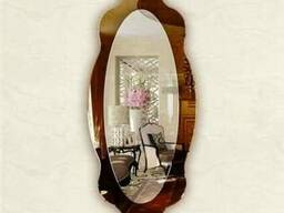 Двойные зеркала на заказ(купить) Киев