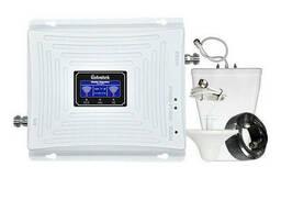 Двухдиапазонный 3G 4G усилитель репитер Lintrаtеk KW20C-DW 1800+2100 комплект