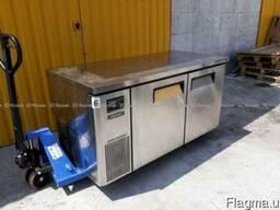 Двухдверный холодильный стол б/у 1500мм из нержавейки Киев