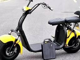 Двухместный электрический скутер citycoco 2000 Вт