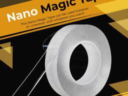 Клейкая лента прозрачная Magic Tape, Nano лента 3 м. Акция!