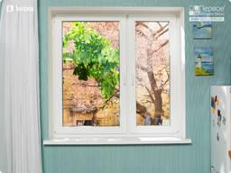 Окна двухстворчатые энергосберегающие WDS 6S