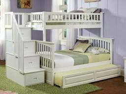 """Двухъярусная кровать из дерева """"Антонио"""""""