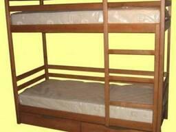 Двухярусная кровать с ящиками Обухов Украинка