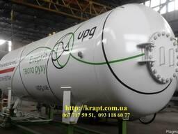 Двустенные резервуары для газа