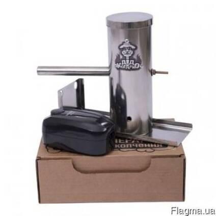 Дымогенератор для холодного копчения (нержавейка)и 2 кг щепы