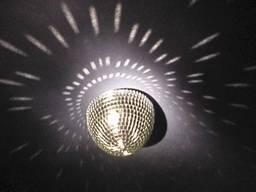 Дзеркальний шар полусфера Скляний не пластик