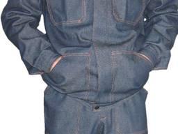 Джинсовый костюм мужской