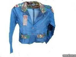 Джинсовые куртки оптом